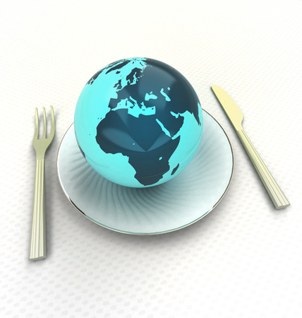 sample european cuisine of top class quality render illustration illustration