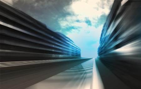 비즈니스 도시 벽지 일러스트 레이 션 빠른 동작 경마장 스톡 콘텐츠