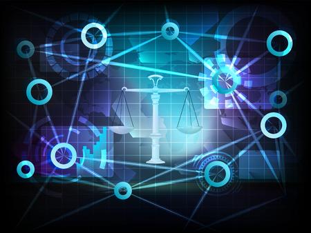 eerlijke handel in de zakelijke wereld overdracht netwerk illustratie