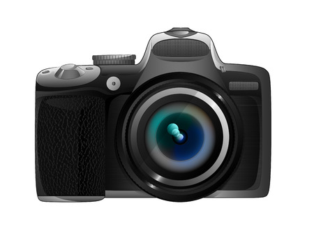 isolated own design camera ready to snapshot vector illustration Vector