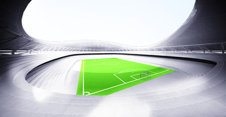 modern football stadium background own design illustration illustration