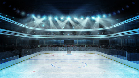 hockey hielo: arena de deporte renderizado mi propio diseño