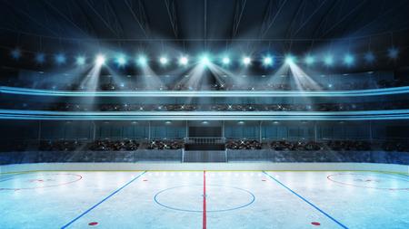 hockey sobre hielo: arena de deporte renderizado mi propio dise�o