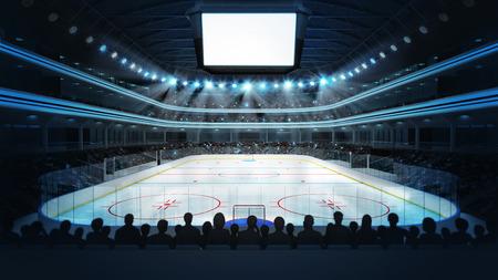 sport arena in view rendering my own design