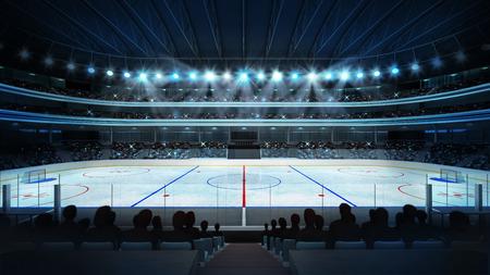Arena de deporte renderizado mi propio diseño Foto de archivo - 39567671