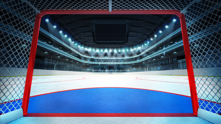 ice arena: sport arena rendering my own design