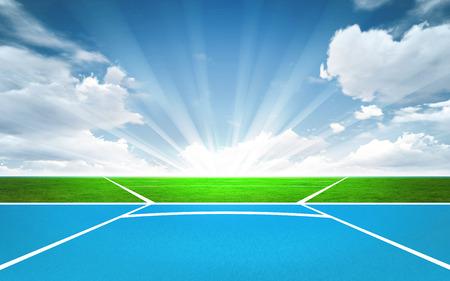 lanzamiento de jabalina: jabalina posterior tiro el deporte fuera de tema hacer ilustraci�n de fondo