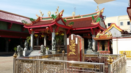 joss: JuiceTui joss house in a central of Phuket province