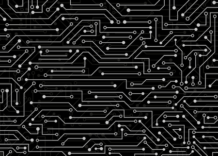 Circuit board, technology background. vector background illustration for web, decor, graphic design