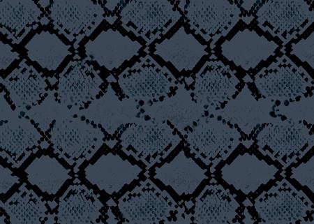 Schlangenhaut abstraktes Muster. Vektorhintergrundillustration für Web, Dekor, Mode, Grafik, Oberflächendesign