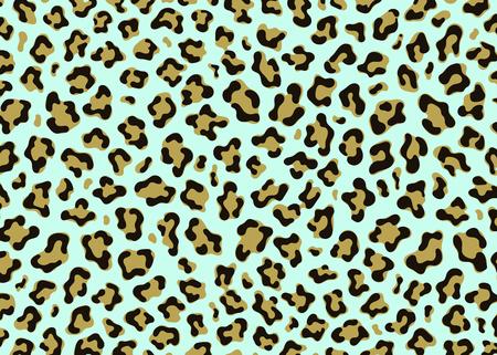Design semplice con motivo leopardato. Fondo dell'illustrazione di vettore della stampa animale. Illustrazione di design della pelle della pelliccia della fauna selvatica per il web, l'arredamento della casa, la moda, la superficie, il design grafico