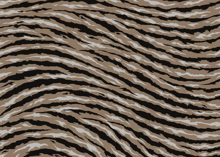 Abstract Tiger skin pattern design. Tiger stripes vector illustration background. wildlife fur skin design illustration. For print, web, home decor, fashion, surface, graphic design Illustration