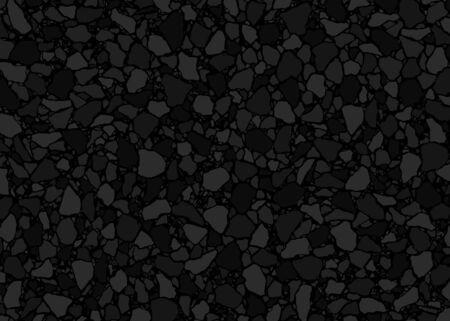 Modello di pavimentazione in terrazzo. Fondo dell'illustrazione di vettore. Pavimenti in classico stile veneziano italiano. Per stampa, tessuti, web, decorazioni per la casa, moda, superfici, design grafico