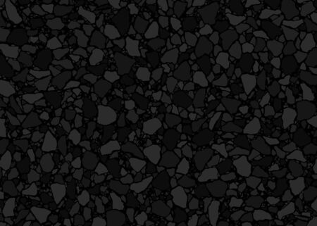 Terrazzo flooring pattern. Vector illustration background. Classic Italian Venetian style flooring. For print, textile, web, home decor, fashion, surface, graphic design