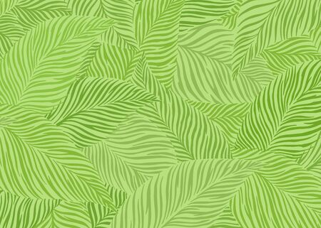 Abstract leaf pattern background. Vector illustration background. For print, textile, web, home decor, fashion, surface, graphic design 矢量图像