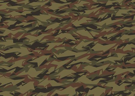 Modern Camouflage pattern. Vector background. For print, textile, web, home decor, fashion, surface, graphic design 일러스트