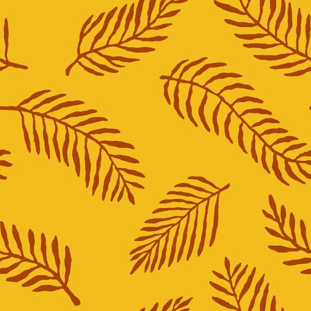 Abstract leaf seamless repeat pattern. Vector illustration background. For print, textile, web, home decor, fashion, surface, graphic design 일러스트