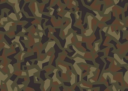 Modern Camouflage seamless pattern. Vector background illustration. For print, textile, web, home decor, fashion, surface, graphic design 일러스트