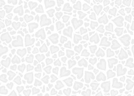 Subtle Leopard skin pattern design. Abstract love shape leopard print vector illustration background. Wildlife fur skin design illustration for print, web, home decor, fashion, surface, graphic design Vecteurs
