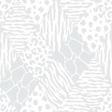 Abstract diamond animal print. Subtle vector illustration pattern for surface, t shirt design, print, poster, icon, web, graphic designs.
