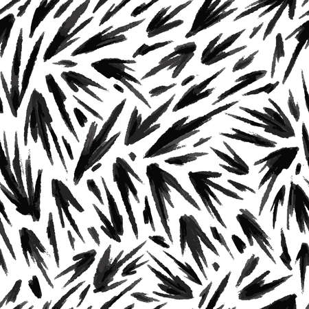 Abstract brush strokes seamless pattern. Vector illustration pattern for surface, t shirt design, print, poster, icon, web, graphic designs.