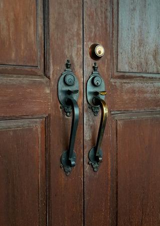 door knob: Door knob - vintage effect