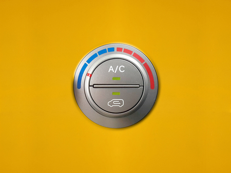 cooling: Car Air cooling control. Stock Photo