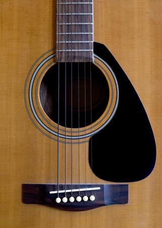 hole: sound hole of classic guitar