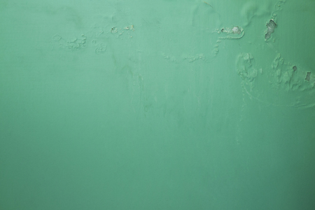 Textures on the green wall, for background. Banco de Imagens