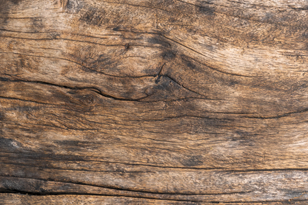 Closeup. Aged Solid Old Wood Slat Rustic Shabby Brown Background. Grunge Faded Wood Board Panel Structure. Hardwood Dark Weathered Timber Surface.