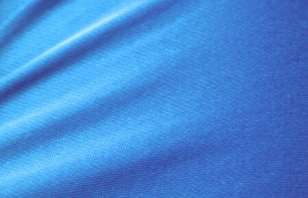blue fabric texture, cloth background, Solid fabrics for backs and pillows. Blue silk drapery