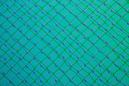 Seamless knotted pattern twisted cord in dark green background. durable material and durable for general use. Banque d'images