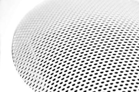 Close-up of a white sound box Stock Photo - 2442046
