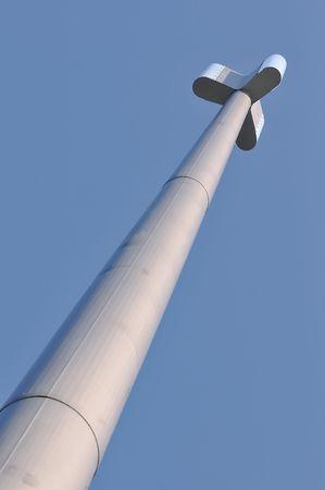 gsm: View of an high GSM antenna
