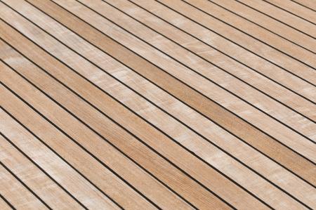 Yacht teak deck background