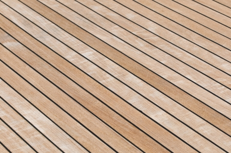 teak: Yacht teak deck background