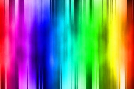 Abstract courtain with colorful gradient