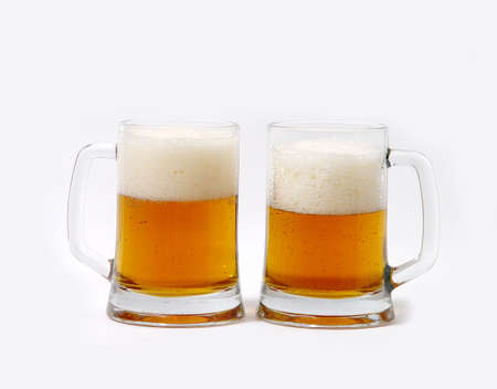 Two Beer mugs Stock Photo - 759687