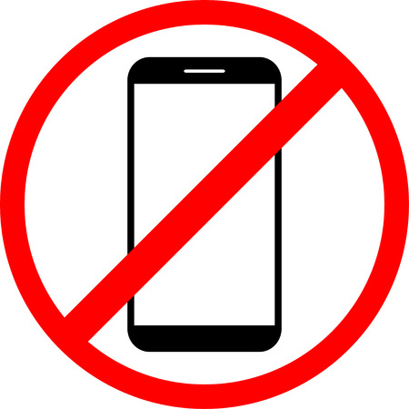 use: Icon is forbidden  use the phone