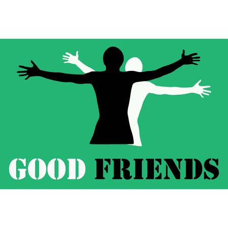 jovial: Good friebds  logo