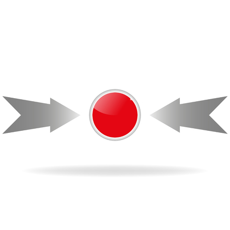 top pointer: Red button with arrows.  Click on the red button