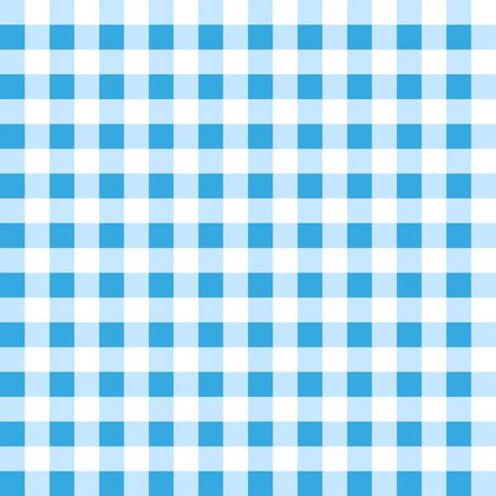 manteles: Modelo azul manteles a cuadros