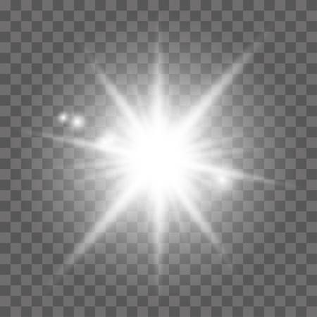 effect: White light effect,  sun rays