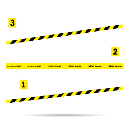 cordon: Place tape  yellow incident