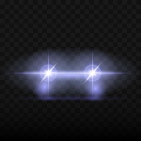 Les phares de voiture