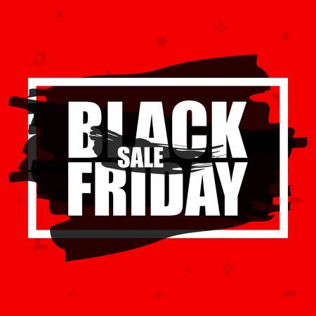 Black Friday sale banner. November 25th