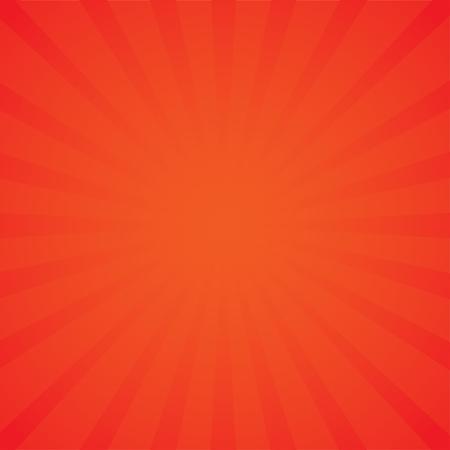 Pop art style, retro rays comic orange background