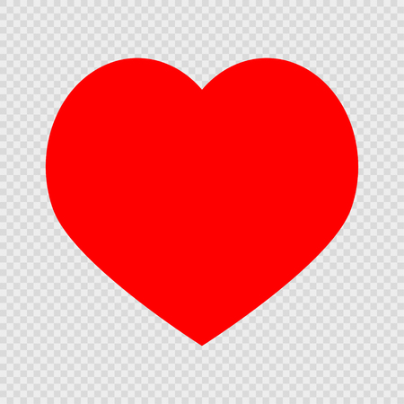 Red Heart On A Transparent Background Royalty Free Cliparts Vectors And Stock Illustration Image 95353454