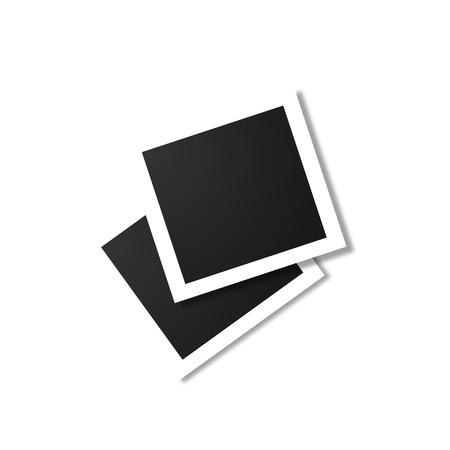 Photo frame on a white background 일러스트