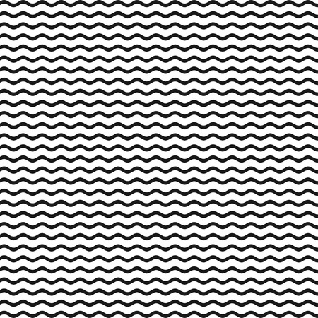 Abstract pattern with lines. Waves outline icon, modern minimal flat design style